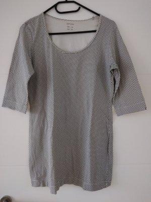 Esmara Camicia lunga bianco-nero