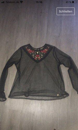 Superdry Transparent Blouse black