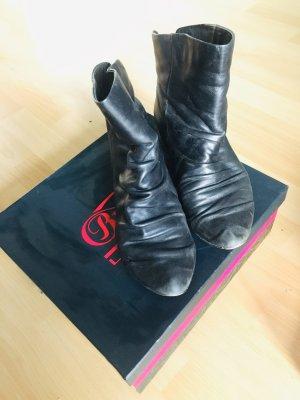 Buffalo London Halfhoge laarzen zwart Leer