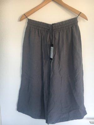 Pantalone culotte grigio