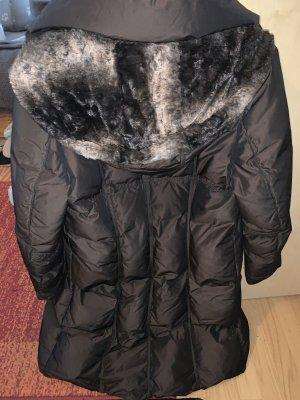 Gil Bret Cappotto con cappuccio marrone scuro-marrone chiaro