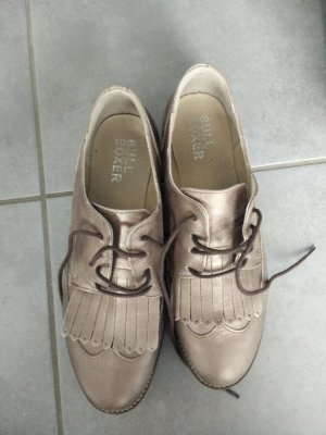 Bullboxer Lace Shoes bronze-colored