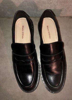 Marc O'Polo Slip-on noir cuir
