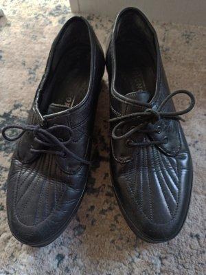 SIGNORA Chaussures à lacets noir
