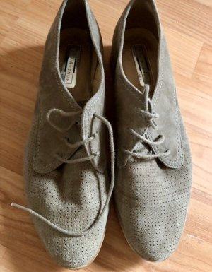 5th Avenue Zapatos brogue marrón grisáceo