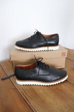 Apple of eden Lace Shoes black-white