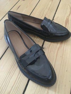 Asos Zapatos de marinero negro