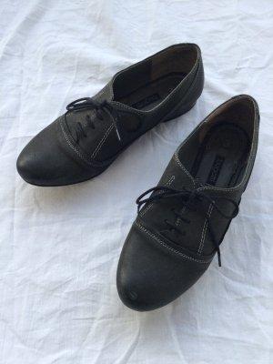 Bugatti Lace Shoes dark grey-white