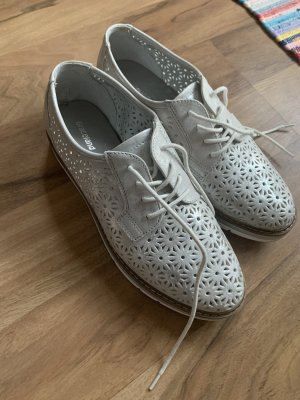 Graceland Pantoffels zilver-wit