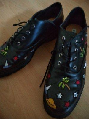 Zara Trafaluc Zapatos brogue multicolor