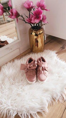 Halbschuhe rosa Schleife Slipper Pantolette Sneaker Schuhe  39