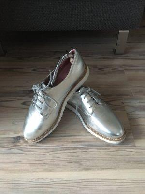 Apple of eden Chaussures à lacets argenté-blanc