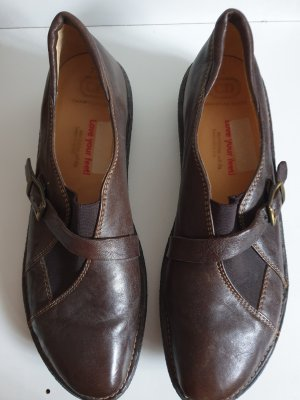 Christian Dietz Slip-on Shoes bronze-colored