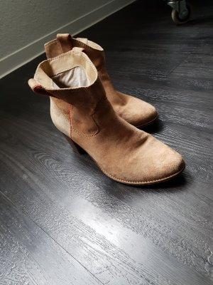 Görtz Shoes Botki jasnobeżowy