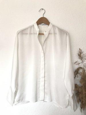 Mango Suit Bluzka oversize biały-w kolorze białej wełny