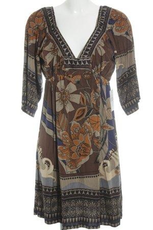 Hale Bob Babydoll Dress flower pattern elegant