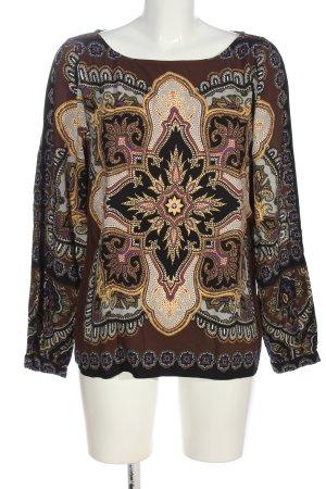 Hale Bob Long Sleeve Blouse allover print casual look