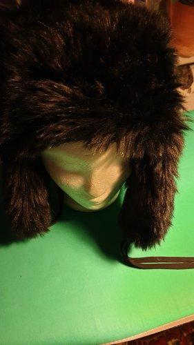 Hallhuber Bontmuts zwart