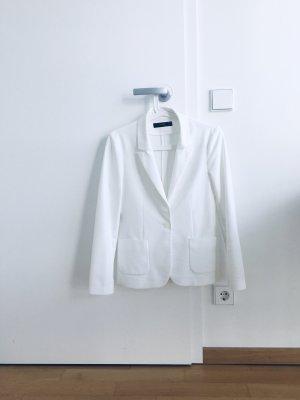 Hallhuber Klassischer Blazer white