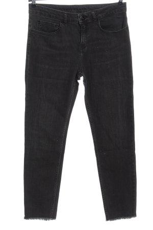 Hallhuber 7/8 Jeans hellgrau Casual-Look