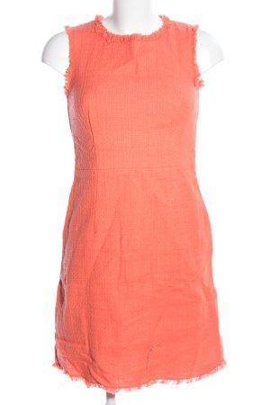 Hallhuber A-Linien Kleid hellorange Casual-Look