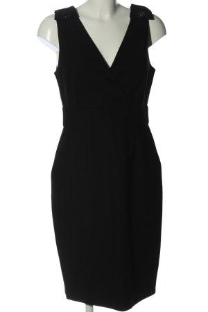 Hallhuber A-Linien Kleid schwarz Business-Look