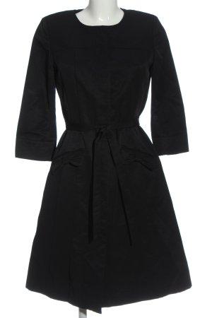 Hallhuber A-Linien Kleid schwarz Casual-Look