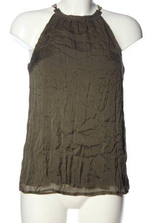 Hallhuber A-Linien Top khaki Casual-Look