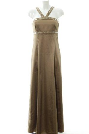 Hallhuber Abendkleid sandbraun Elegant