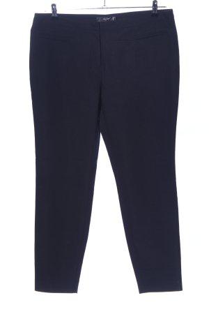 Hallhuber Anzughose blau Business-Look