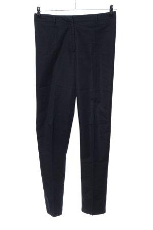 Hallhuber Pantalon zwart casual uitstraling