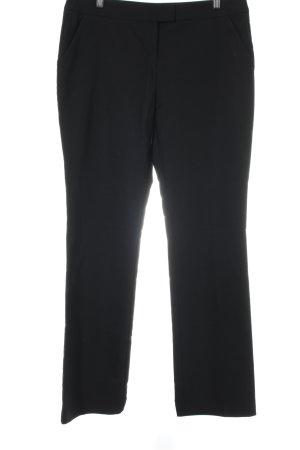 Hallhuber Anzughose schwarz Business-Look