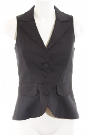 Hallhuber Waistcoat black business style