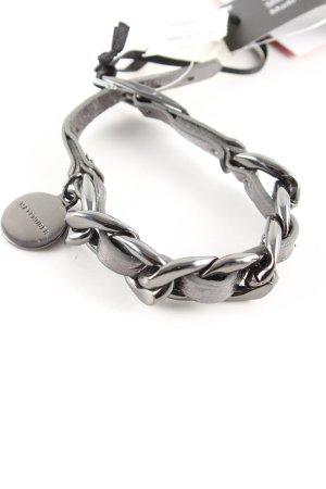 Hallhuber Bransoletka srebrny W stylu casual