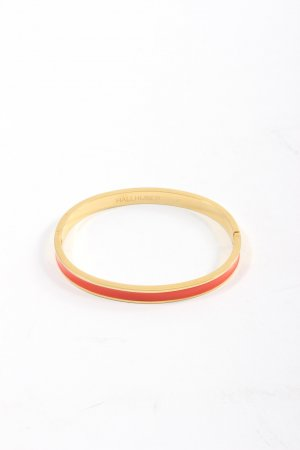 Hallhuber Sztywna bransoletka złoto-czerwony W stylu casual