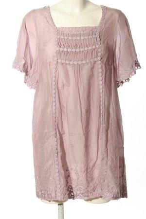 Hallhuber Babydollkleid pink Casual-Look