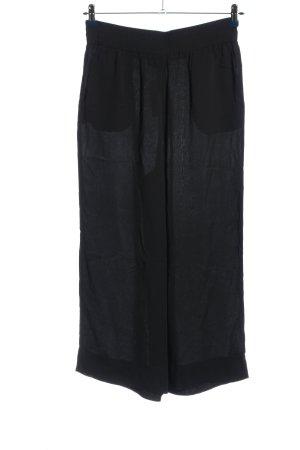 Hallhuber Baggy Pants schwarz Casual-Look
