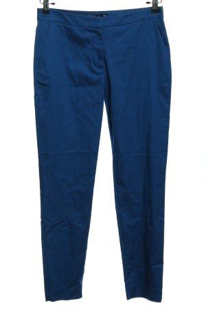 Hallhuber Pantalon «Baggy» bleu style décontracté