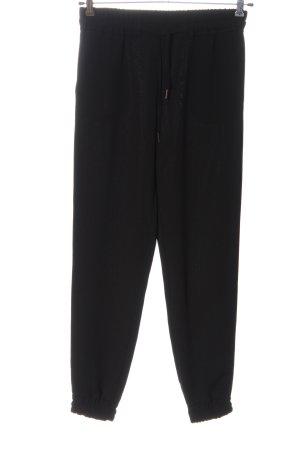 Hallhuber Baggy Pants black casual look
