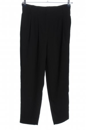 Hallhuber Baggy Pants schwarz Casual-Look