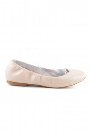 Hallhuber Ballerinas with Toecap dusky pink business style