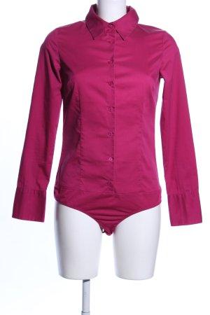 Hallhuber basic Bodyblouse roze casual uitstraling
