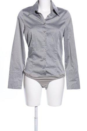Hallhuber basic Bodysuit Blouse light grey casual look