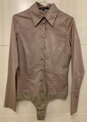 Hallhuber basic Body koszulowe szaro-brązowy