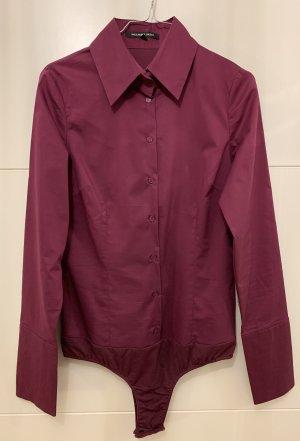 Hallhuber basic Bodysuit Blouse purple