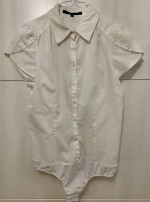Hallhuber basic Bodysuit Blouse white
