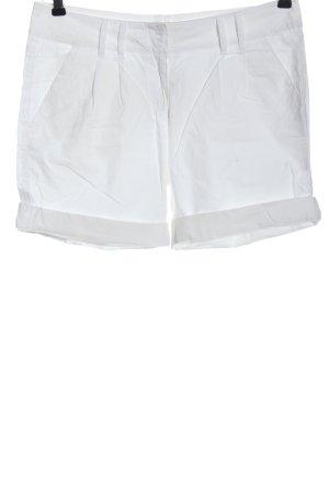 Hallhuber basic Short moulant blanc style décontracté