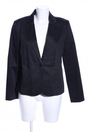 Hallhuber basic Kurz-Blazer schwarz Business-Look