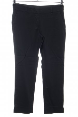 Hallhuber basic Röhrenhose schwarz Business-Look
