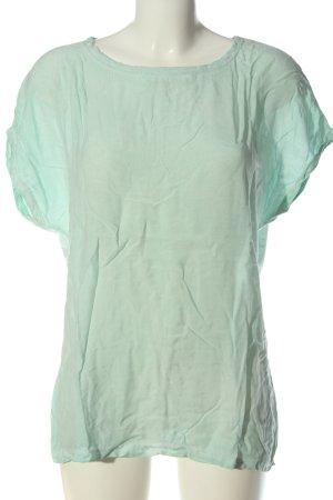 Hallhuber Shirt basique vert style décontracté